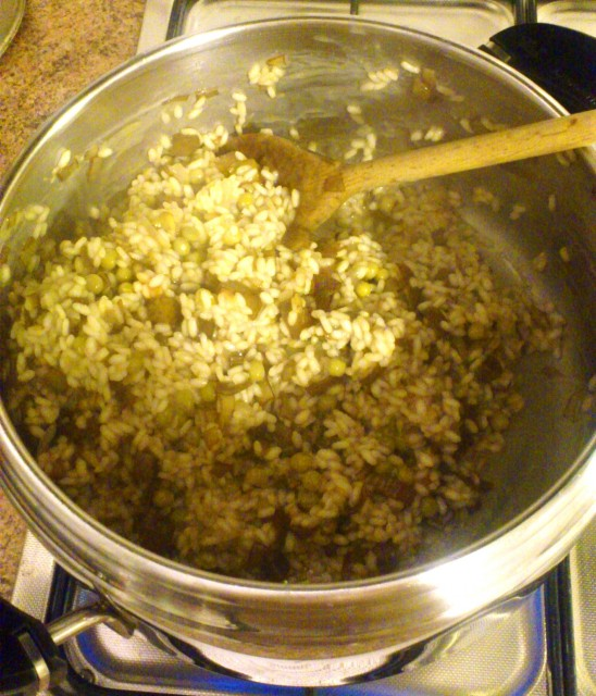 risotto carciofi piselli (3)