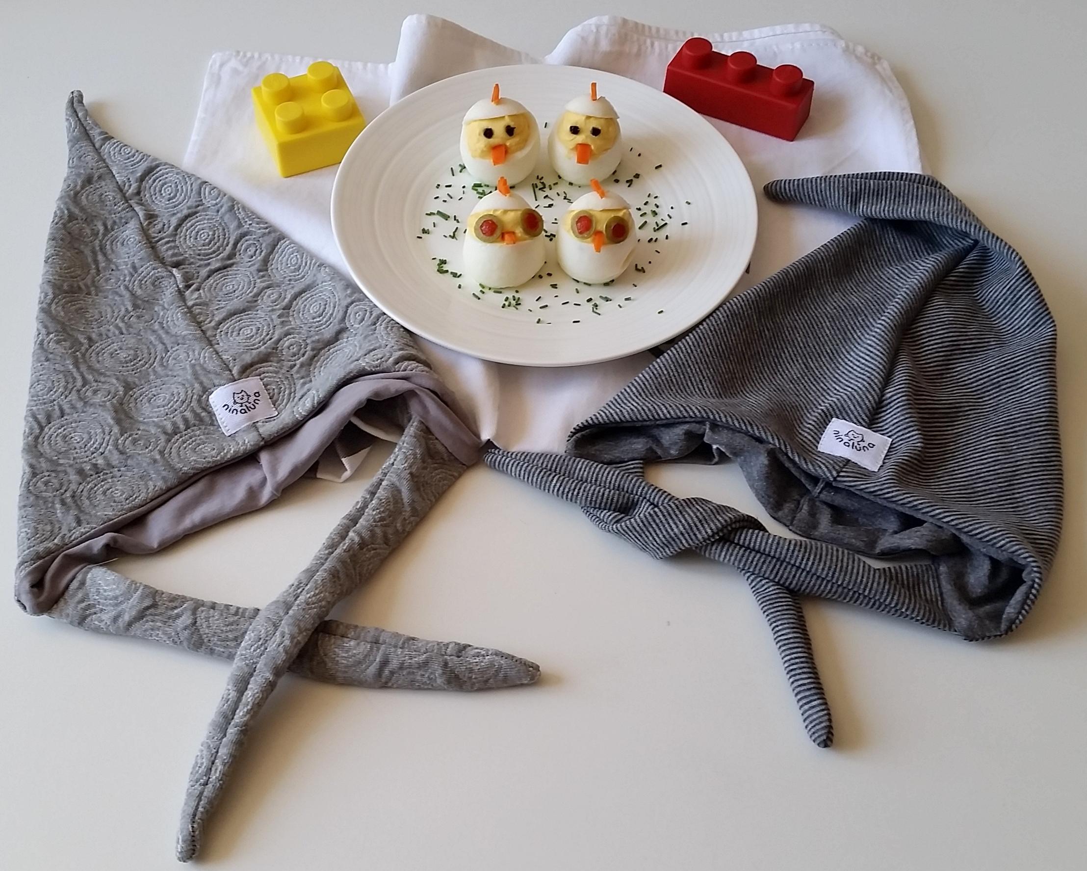 Pulcini di uova – in cucina con i vestiti Ninaluna