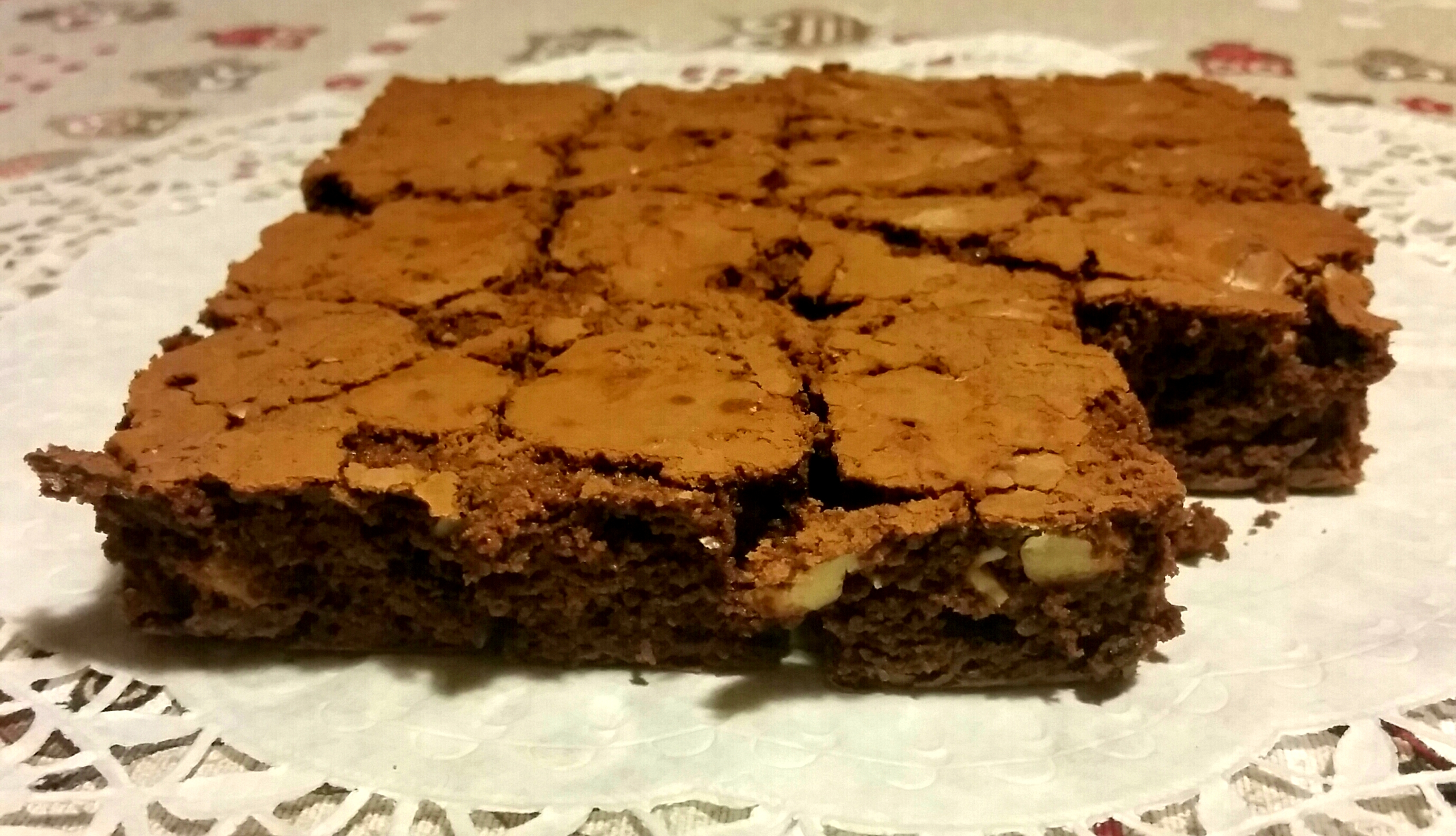 Brownies con i cioccolatini Lindt