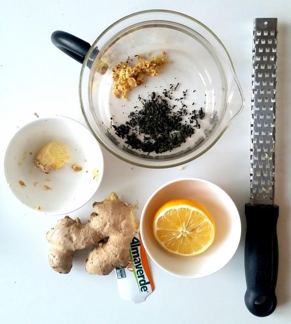 tisana zenzero te verde limone e miele (3)